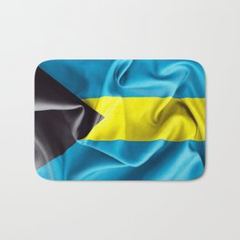 Bahamas Flag Bath Mat