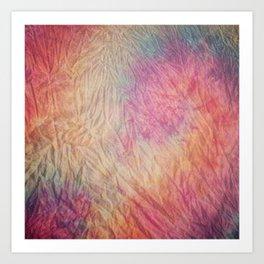 Marble dye Art Print