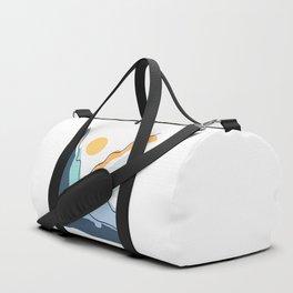 Minimalistic Landscape II Duffle Bag