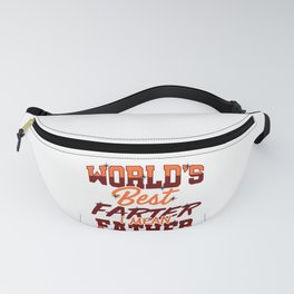 Father's Day Gift World's Best Farter, I Mean Father Fanny Pack