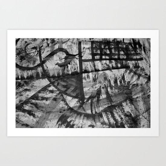 My Ink op 2 Art Print