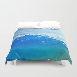 Blue Sky Mountain Duvet Cover