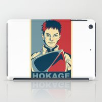 naruto iPad Cases featuring Naruto - Hokage by KingSora