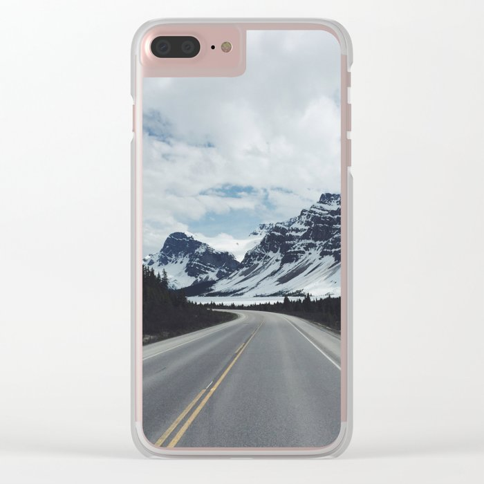 Banff Road Clear iPhone Case