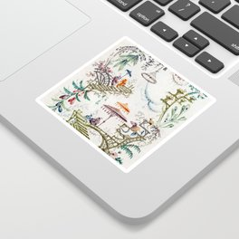 Enchanted Forest Chinoiserie Sticker