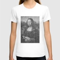 mona lisa T-shirts featuring Mona Lisa by The Invisible Shop