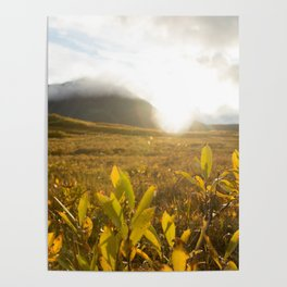 Brooks Range Sunset Poster