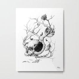 Life Cycle Metal Print