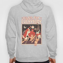 Cats for Everybody Hoody