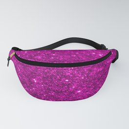 Glitter Pink Image Fanny Pack