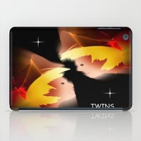twins iPad Cases featuring Twins. by capricorn