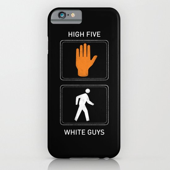 High Five White Guys iPhone & iPod Case