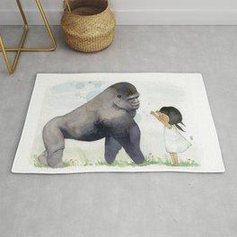 Hug me , Mr. Gorilla Rug