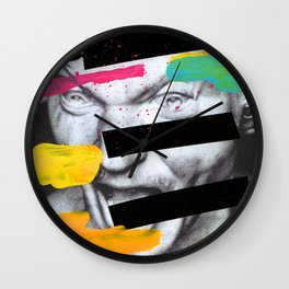 Composition 470 Wall Clock