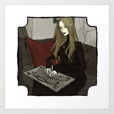 Seance Art Print