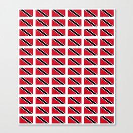 flag of trinidad and Tobago -Trinidad,Tobago,Trinidadian,Tobagonian,Trini,Chaguanas. Canvas Print