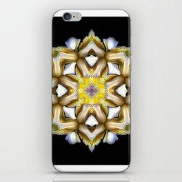 Yellow Iris iPhone Skin