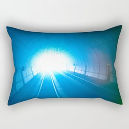 In the Tunnel Rectangular Pillow