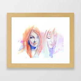 Portrait 6 Framed Art Print