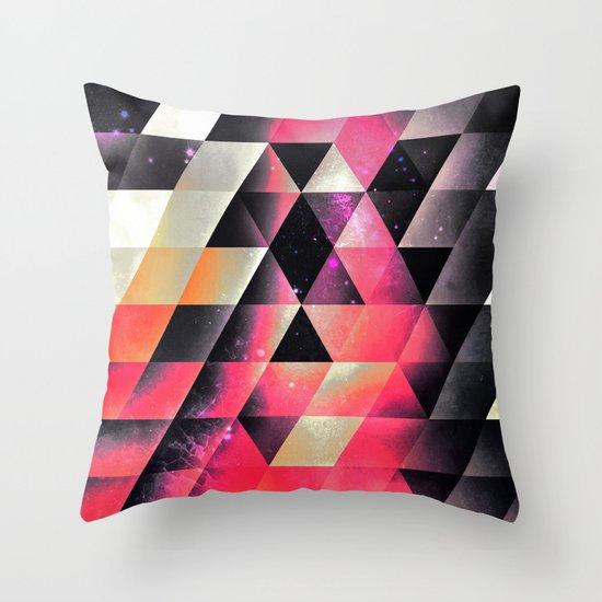 fyrlyrne fyyrth Throw Pillow