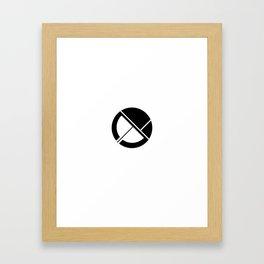Everydaygeometric - Day Four -  Framed Art Print