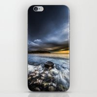 justice iPhone & iPod Skins featuring Justice by HappyMelvin