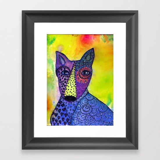Stanley the Dawg Framed Art Print