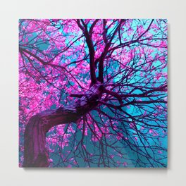purple tree XII Metal Print