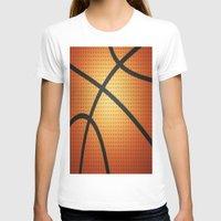 basketball T-shirts featuring Basketball by Debra Ulrich
