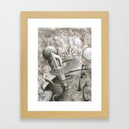Space Balls Framed Art Print