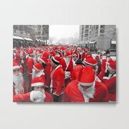 Santas Metal Print