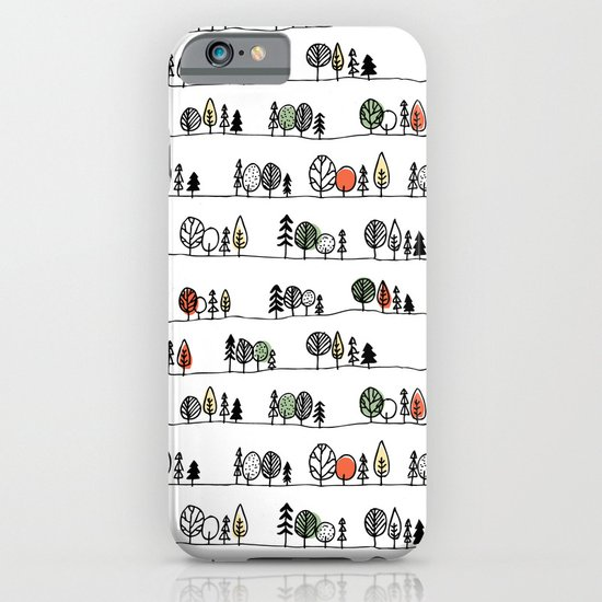 Forest Doodle iPhone & iPod Case