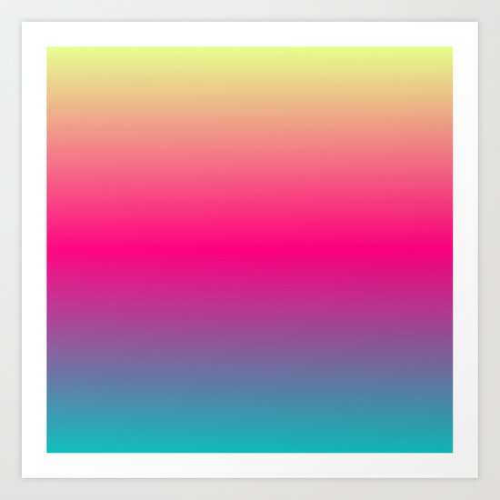 Candy Rainbow Art Print