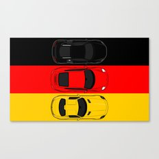 German Horsepower Canvas Print