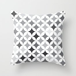Stars - Smoke #346 Throw Pillow