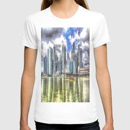 Singapore Marina Bay Sands Art T-shirt