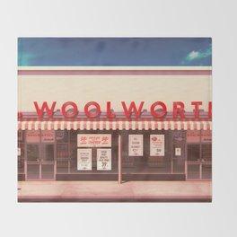 F.W. Woolworth Throw Blanket