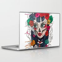 mexican Laptop & iPad Skins featuring Mexican SK by LucreziaU's Illustration