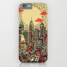 philadelphia city skyline iPhone 6s Slim Case