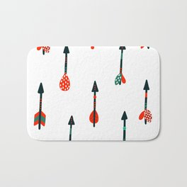 boho arrows Bath Mat