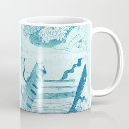 Anne of Green Gables Blue Coffee Mug