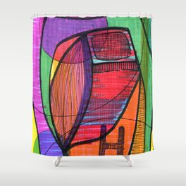 H120 Shower Curtain