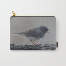 A Slate Eyed Junco Carry-All Pouch