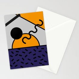 Memphis Design 80's style Stationery Cards