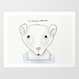 miss mouse Art Print