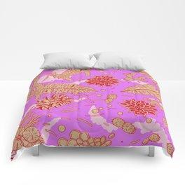 Warm Flower Comforters