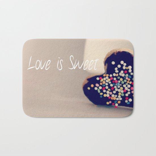 Love is Sweet  - JUSTART © Bath Mat