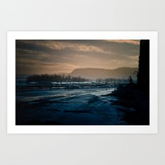 winterscape Art Print