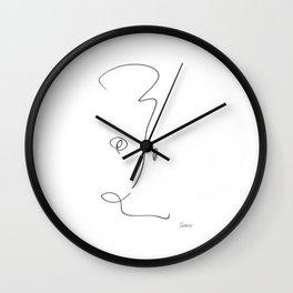 Demeter Moji d17 4-2 w Wall Clock