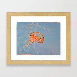 Jelly Fish Print from Original Framed Art Print